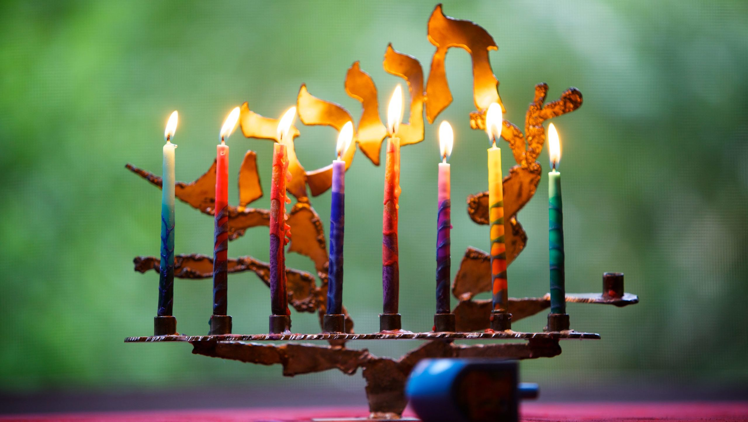 Fully Lit Menorah (URJ)-min