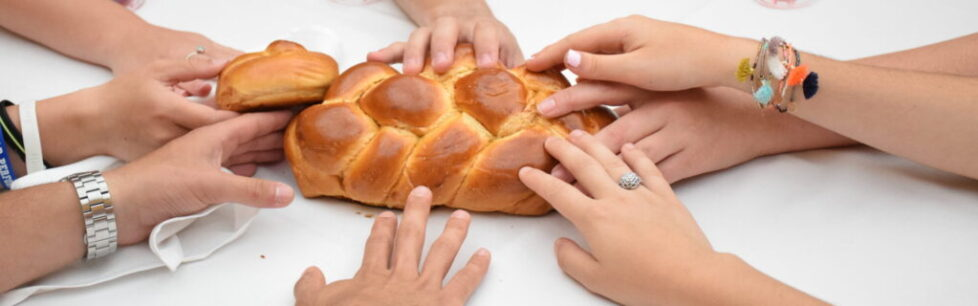 Blessing Over the Challah, Shabbat